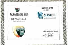Cardinal Coated Glass